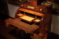 Abraham Roentgen's rolltop desk.
