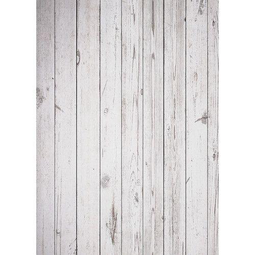 Westcott Old Wood Floor Matte Vinyl Backdrop with Grommets (5 x 7', White) #fairfieldgrantswishes