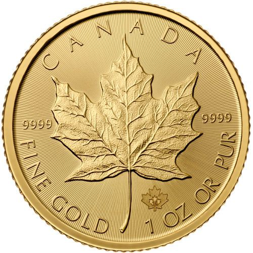 2016 Canadian Maple Leaf Gold Coins - Gold coins are a wonderful investment, not subject to a stockbroker who might trade them in and out of your portfolio.