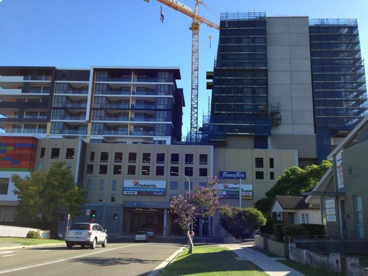 Top Ryde urban renewal project #TopRyde #Ryde #CityofRyde #RydeLocal #TopRydeShoppingCentre