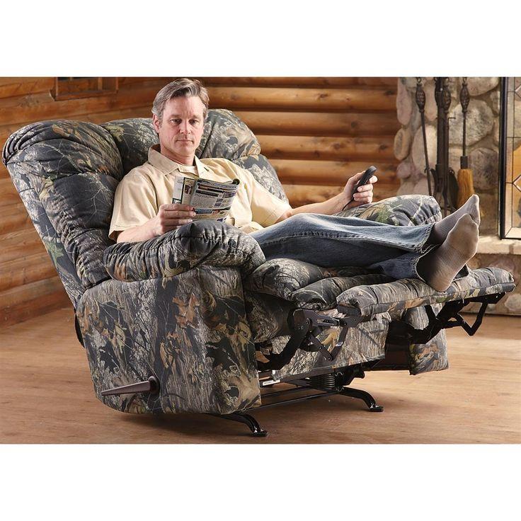 catnapper magnum recliner chair mossy oak - Catnapper Recliners