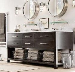 vanity design for M Bath