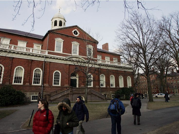 1. Harvard University, US —100