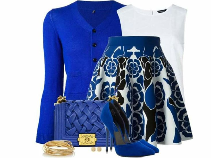 Nice royal blue combo