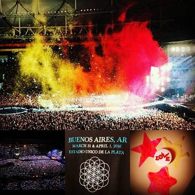 ¡Increible! Fue una completa locura, una fiesta imperdible que esperamos se repita pronto See you soon! | Tour image | The Coldplay Timeline  #AHFODtour #ColdplayBuenosAires #2016