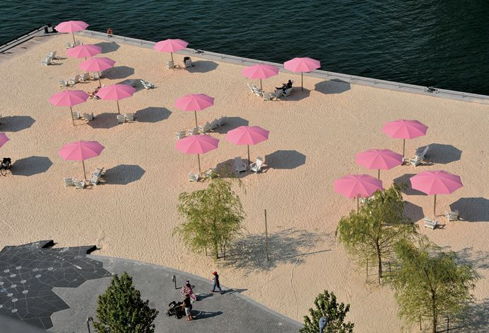 Plage Urbaine - La liste : les meilleures plages urbaines (Air Canada) - Montréal - Berlin - Shanghai - Toronto