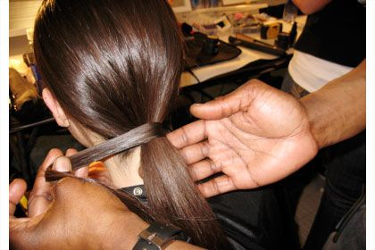 Beauty insider tips; how to make that piece of hair stay wrapped around your ponytail + more!