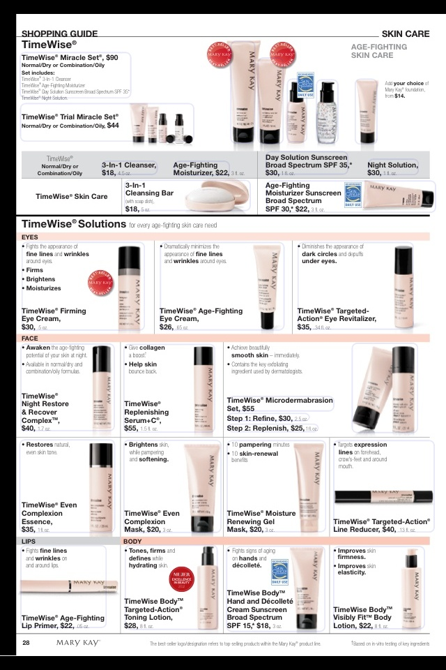 Mary kay products to love.  contact me to order at www.marykay.com/arosser