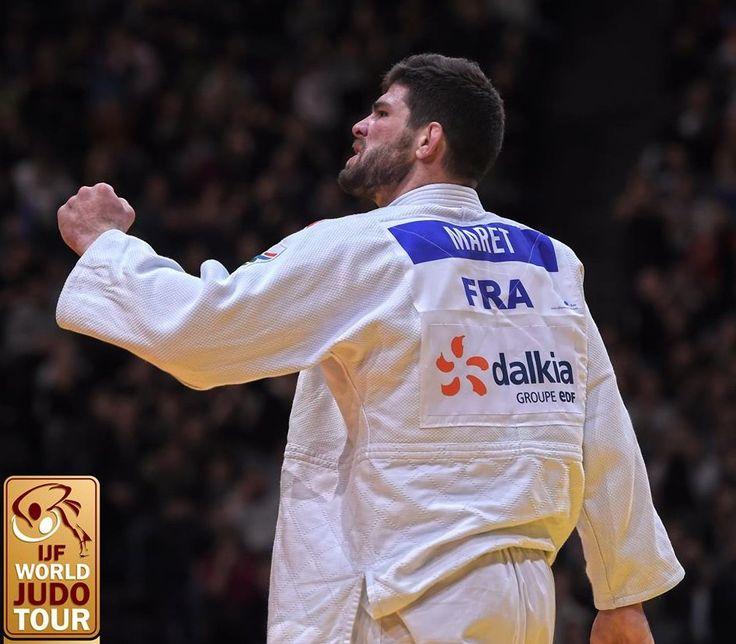 CyrilleMaret remporte le Grand Slam d'Abou Dabi en +100kg !!!🇫🇷🥇 En route pr les chpts du monde ttes catégories (11-12/11, Marrakech) !!!💪