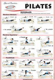 pilates mat exercise chart  google search  yoga