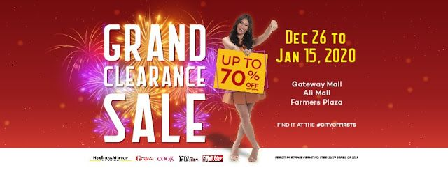 After Christmas Sales December 26 2020 Araneta City Grand Clearance SALE: Dec 2018 Jan 2020 in 2020