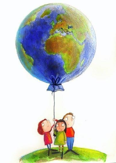 Imagen de la Tierra como globo