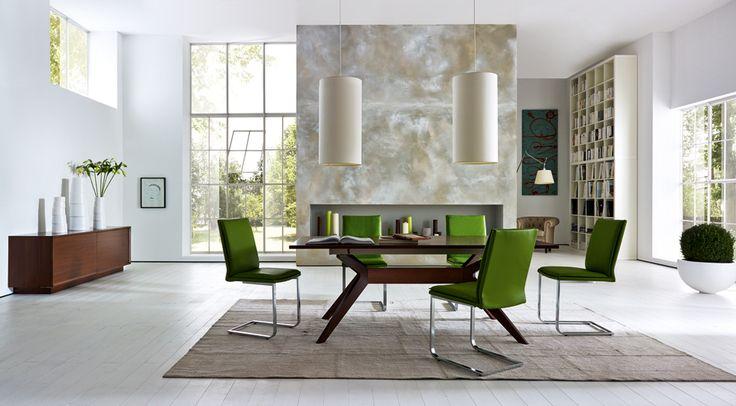 Dining room LEONARDO designed by Tiziano Bistaffa