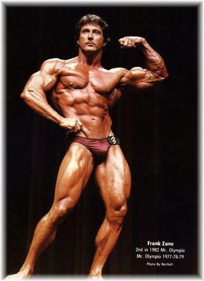 フランク・ゼーンの上腕二頭筋のルーティン   ボディビル
