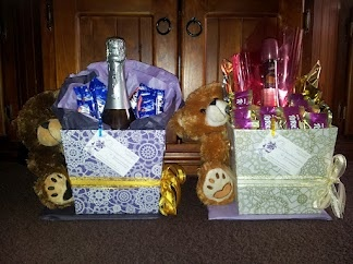 "My ""Teddy, Wine & Choc"" gift packs..."