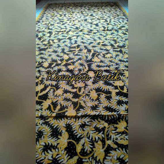 Check out this item in my Etsy shop https://www.etsy.com/listing/488200116/hand-written-black-yellow-indonesia