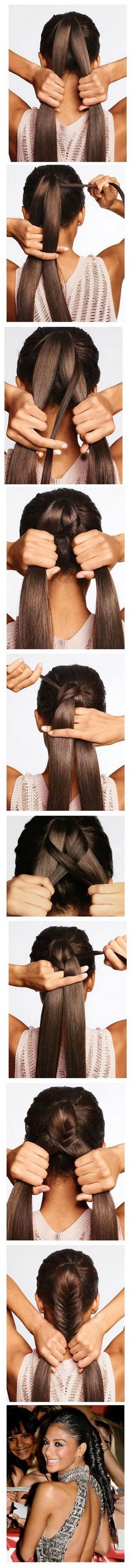 Easy hairstyles for everyday - Peinados rápidos y sencillos para todos los días.