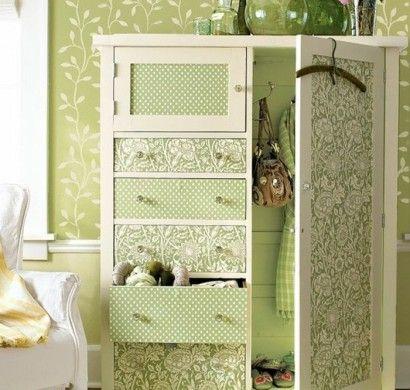 ber ideen zu schrank tapete auf pinterest esszimmer tapete. Black Bedroom Furniture Sets. Home Design Ideas