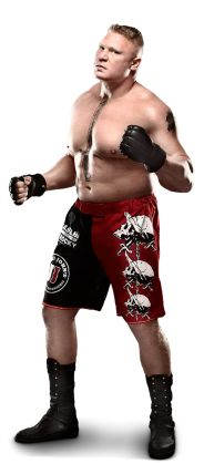 "Flop Lesnar -   Height: 6'3""  Weight: 266 lbs.  From: Minneapolis, Minn.  Signature Move: F-5; Kimura Lock  Career Highlights: WWE Champion; 2003 Royal Rumble Match winner; 2002 King of the Ring"