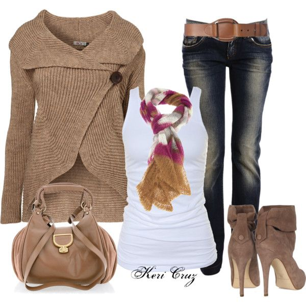 """""""Autumn Style"""" by keri-cruz on Polyvore. I want these boots...if only they wouldn't break the bank."""