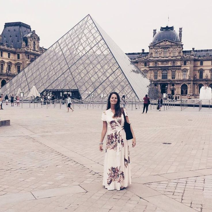 I am a WOMAN. What's your superpower?  Happy Womens Day!  @Rolene Lightbody rocking her Philly dress at the Louvre