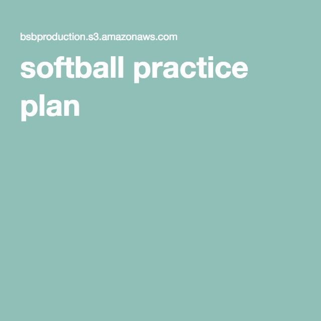 461 best baseballsoftball images on pinterest softball mom softball practice plan fandeluxe Gallery