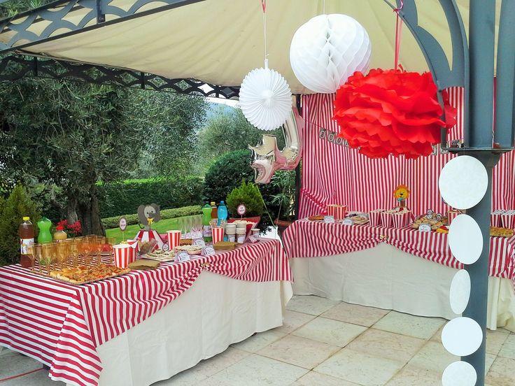 tema circo - Lara's party - laraspartyeventi@gmail.com