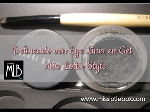 Miss Lottie BOX: Eye Liner en Gel a lo Miss Lottie