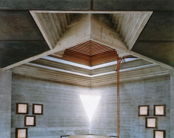 Carlo Scarpa's Tomba Brion: Photographs by Guido Guidi, 1997-2007 | Canadian Centre for Architecture (CCA)