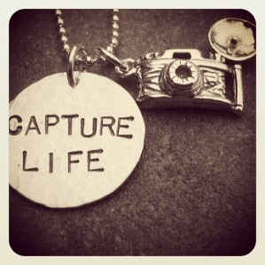Camera necklace. Capture life.
