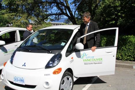 Vancouver expands municipal fleet with 13 new electric vehicles
