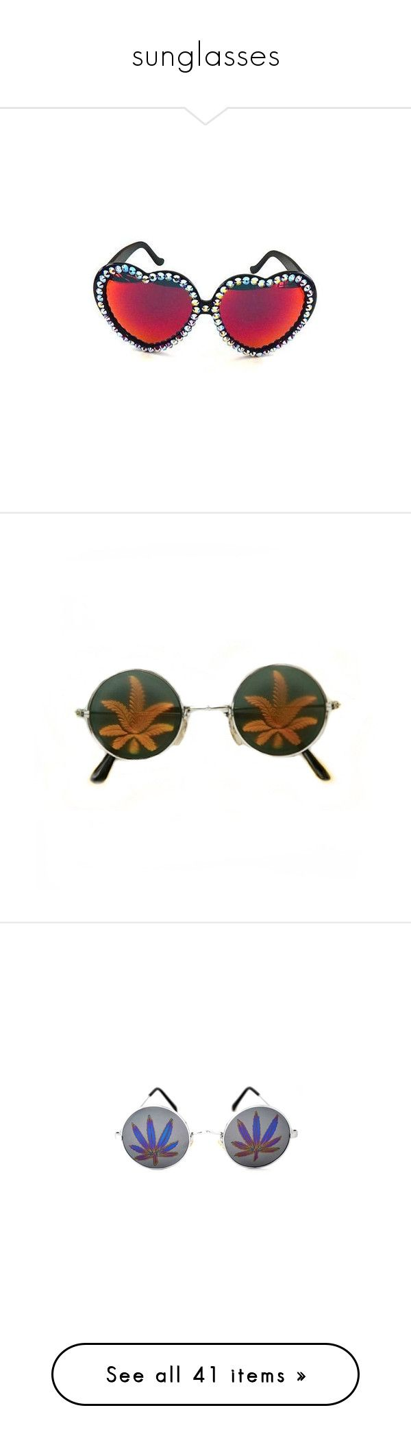 sunglasses by s8tan on Polyvore featuring polyvore women's fashion accessories eyewear sunglasses glasses gasoline glamour sunglasses mirror lens sunglasses gasoline glamour mirrored lens sunglasses acrylic glasses fillers hologram sunglasses hologram glasses acc clothing peace sunglasses hippy sunglasses hippie sunglasses peace sign sunglasses hippy glasses alien dark lens sunglasses white sunglasses white glasses accessories glasses karen walker eyewear karen walker sunglasses karen walker…