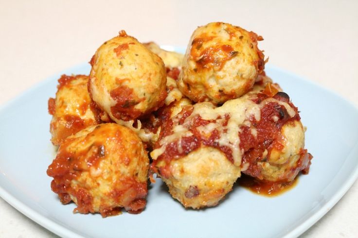 Thermomix Chicken Parma Bites