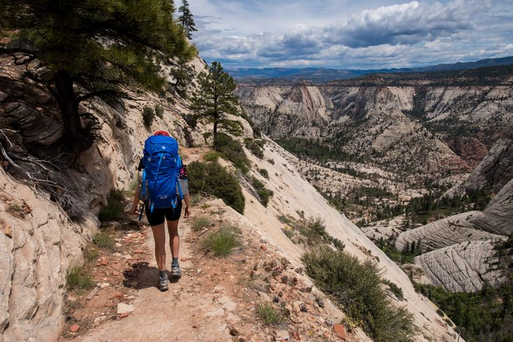 Prepare for your southwest adventure with these desert backpacking tips! Learn where to go, what gear you need, and advice for having fun & being safe // Backpacking the West Rim Trail in Zion National Park