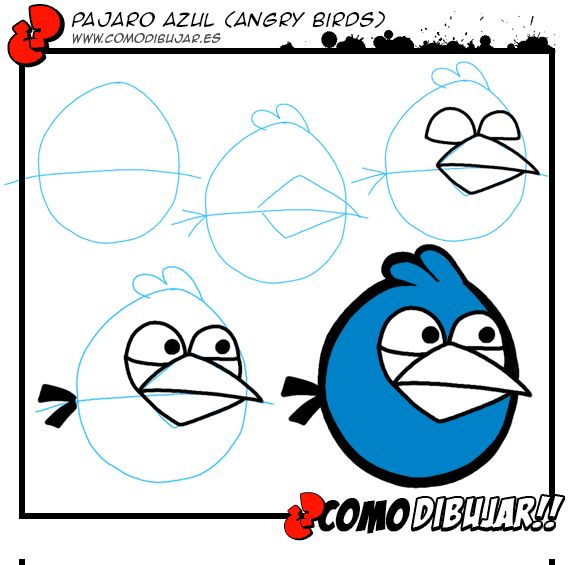 ideas para dibujar on Pinterest | How To Draw, Angry Birds and ...