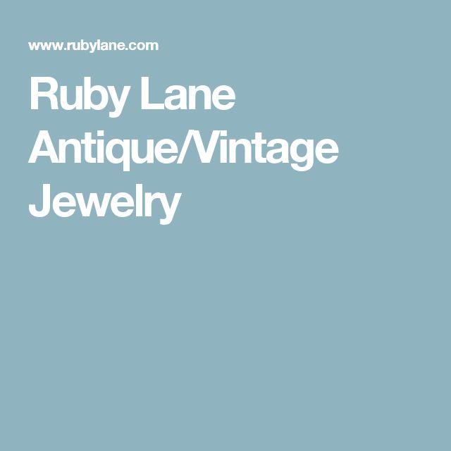 Ruby Lane Antique/Vintage Jewelry