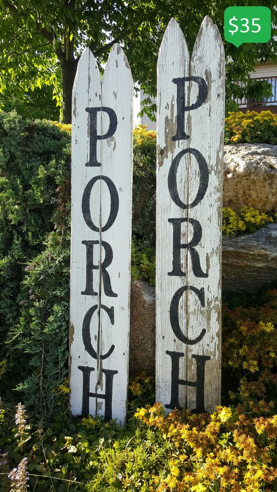 Re-purposed Fence Signs Local Pickup Only by PorchNook on Etsy