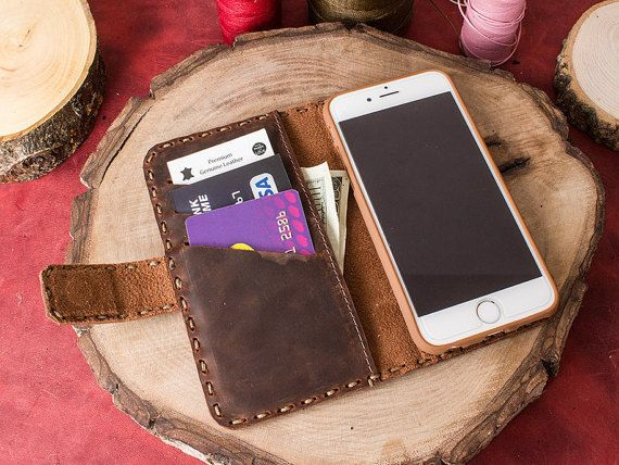 iPhone 6 Case iPhone 6 iPhone 6 Wallet Case iPhone by saracleather
