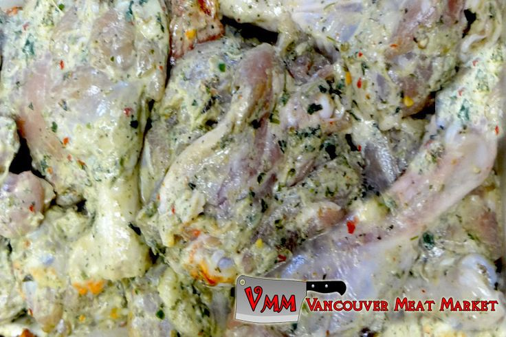 Marinated Mint Chicken Leg N Thigh at Vancouver Meat Market
