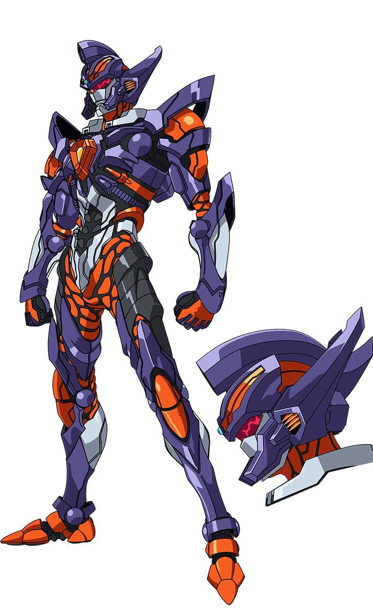 Gridknight Mecha Anime Robot Art Futuristic Armour