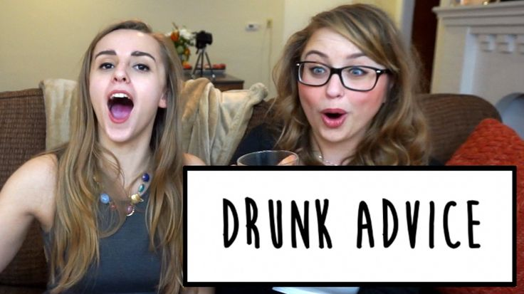 DRUNK ADVICE WITH LACI GREEN | Hannah Witton