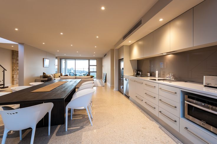 2nd kitchen for lower level living area in our 'Esplanade' project