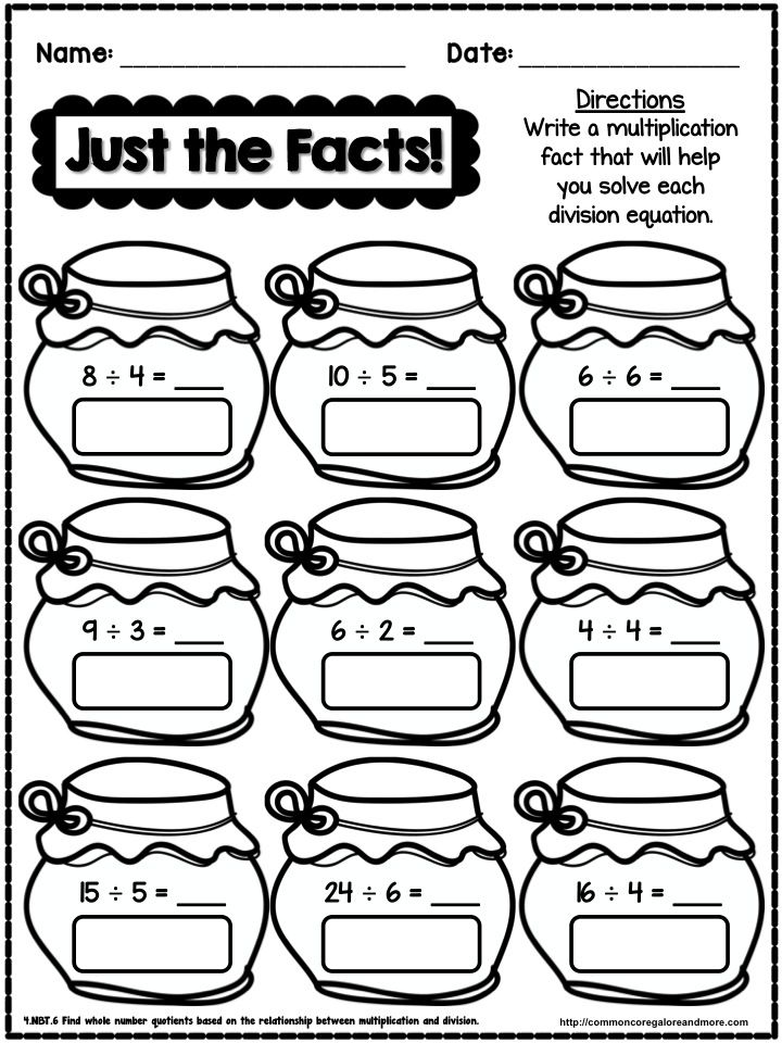17 Best images about Division on Pinterest | Free math ...