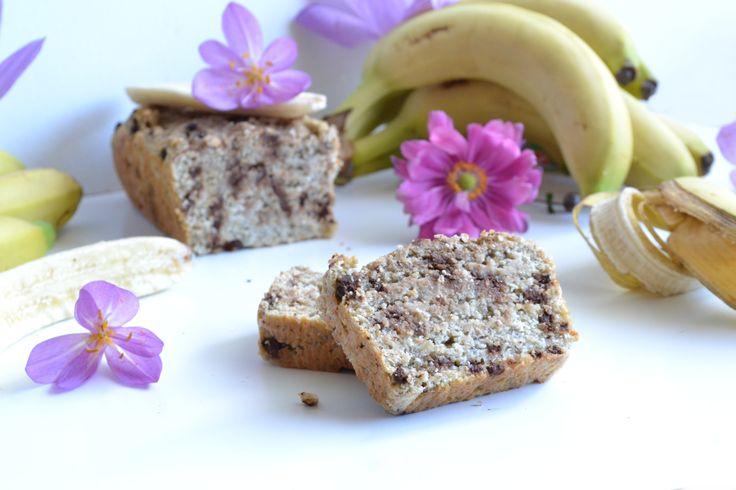 Bananabread aux pépites de chocolat