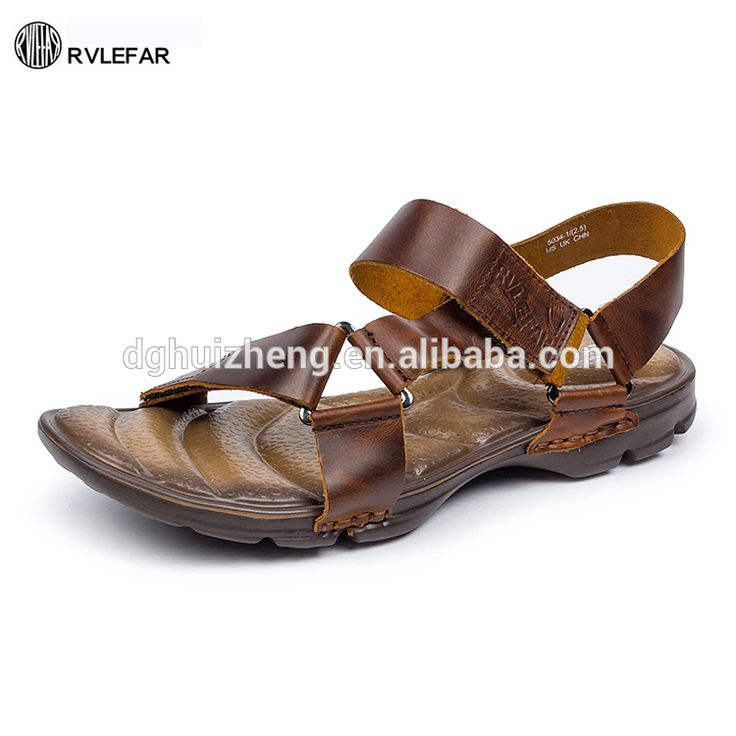 2017 New Design Shoes in Factory Cheap 5034-2 Men Leather Shoes Male Easy Slip-on Slippers and Sandals