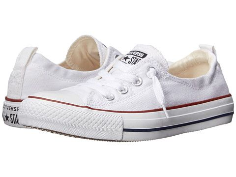 Converse Chuck Taylor® All Star® Shoreline Slip-On Ox White - Zappos.com Free Shipping BOTH Ways