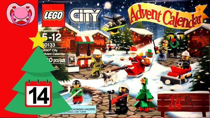 Lego City - Natal 2016 - Calendário do advento 🎄 14 de Dezembro