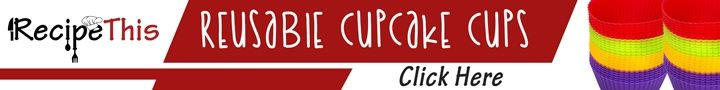 Marketplace | Reusable Cupcake Cups from RecipeThis.com