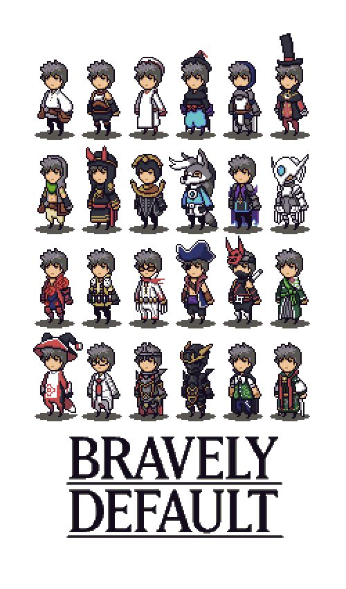 Bravely Default by FrootsyCollins.deviantart.com on @deviantART
