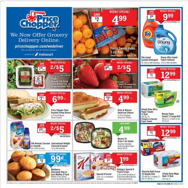Price Chopper Weekly Flyer December 31 - January 6, 2018 - http://www.olcatalog.com/price-chopper/price-chopper-weekly-ad.html